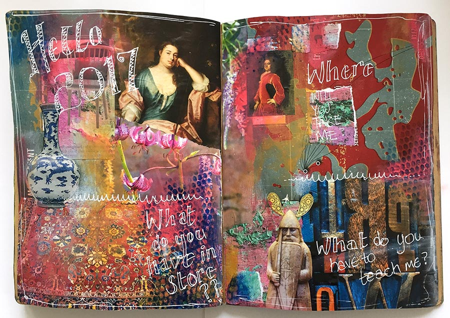 Intuitive Collage