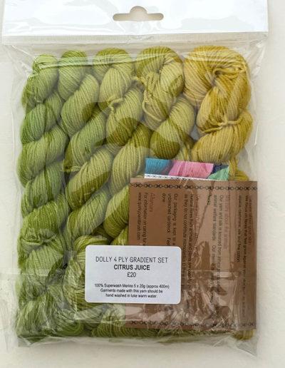 Dolly-4ply-gradient-set-Citrus-Juice
