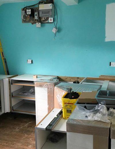 starting the kitchen